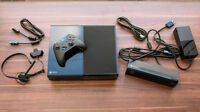 Xbox one with kinect in almost new condition with one game