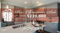 Avonlea Homes Year End Promotion!