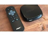 Now TV box (Black)-Boxed-S6 Hillsborough.