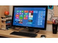 "Dell XPS 27 Touch All-in-One (2720) with 27"" Samsung Monitor-TV"