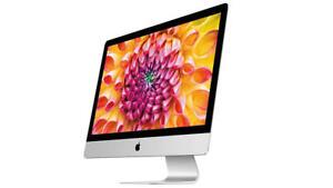 27-Inch iMac 3.4GHz QC i7 / 8GB / 1TB