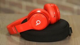 Special edition red beats solo 3 wireless