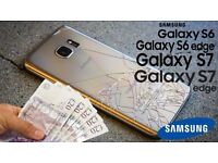 Wanted Cracked Screen Samsung Galaxy Smartphones. Cash on the Spot.