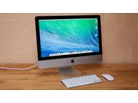 """21.5"""" iMac late 2014 WITH APPLECARE WARRANTY"""