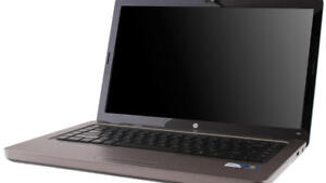 HP G62 AMD DC 2.10GHZ 2GB 320GB DVDRW WIN7 139$