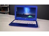 "Laptop 11.6"" HP Stream 1368x768, Intel 2.13GHz dualCore, 32GB SSD, 2GB DDR3, 8h on batt, new Win10"