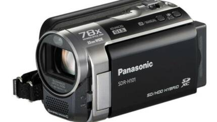 Panasonic SDR-H101 Compact Video Camera Pennant Hills Hornsby Area Preview