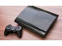 PS3 slim 500g with games