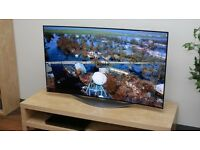 "LG 55EC930V Curved OLED Full HD 3D Smart TV, 55"" with Freeview HD"