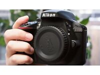 New Nikon Dslr camera D3300 with Nikon Nikkor 18-55mm