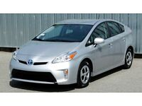 Toyota Prius Uber X PCO ready car hire full insurance £200 a week