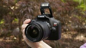 Canon EOS Rebel T6 with EF-S 18-55mm f/3.5-5.6 Lens