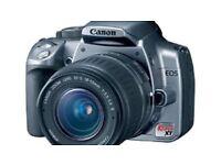 Canon EOS Rebel XT SLR Camera