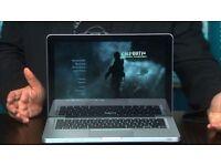 2.4Ghz 13 Apple MacBook Pro 4gb 1600GB Final Cut Pro X Motion Davinci Resolve Final Draft Toast