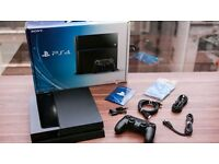 Ps4 boxed 500Gb black
