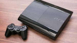 SAME AS NEW ps3 ultra slim 500gb WITH 3 GAMES INC GTA5