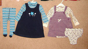 Dresses, Leggings, Clothes - 12, 12-18, 18, 18-24 / Shoes 4, 5,6
