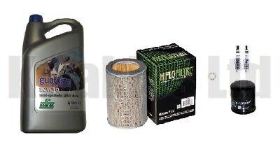 Honda CBF500 2004-2008 Service Kit Filters Iridium Spark Plugs & Rock Oil