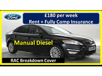 PCO Car Hire/Rent - Mondeo (Rent + Insurance from £180 per week) - Uber ready.