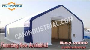Portable Fabric Storage Building Tent
