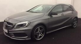 GREY Mercedes-Benz A180 A200 A220 Night Edition 2015 MANUAL FROM £83 PER WEEK!