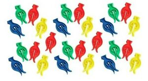 50 CYCLONE CLOTHES PEGS ,  FOR WINDY WASHING LINES PLASTIC