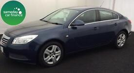£127.39 PER MONTH BLUE 2013 VAUXHALL INSIGNIA 2.0 E/F EXCLUSIV DIESEL MANUAL