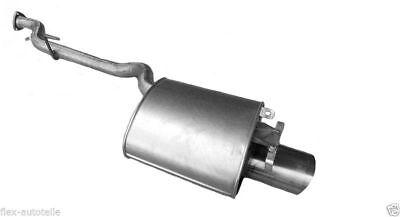 Endschalldämpfer Endtopf Auspuff Mercedes SLK R170 200 230 Kompressor 1704900521
