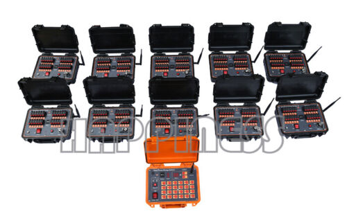 fireworks firing system, 240 cues remote or wire pyrotechnis firing system