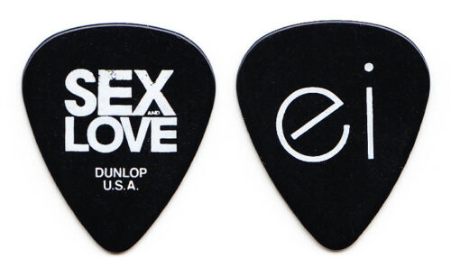 Enrique Iglesias Signature Black Guitar Pick - 2014 Sex & Love World Tour