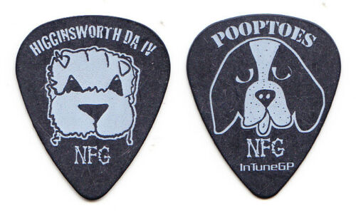 New Found Glory Higginsworth Pooptoes Dogs Guitar Pick - NFG
