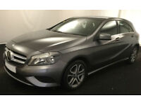 GREY MERCEDES-BENZ A180 1.5 CDI SPORT AMG LINE A200 A220 1.8 FROM £62 PER WEEK