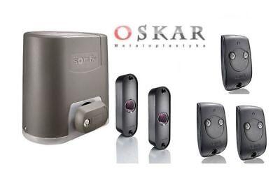 Somfy Elixo 800 230 V RTS Schiebetorantrieb + 4 Handsender!