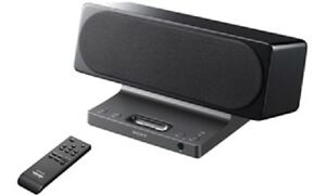 Sony 2-Channel Dock speaker for iPod and iPhone - SRSGU10iP