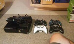 xbox 360 4 manette kinect et 60 jeux