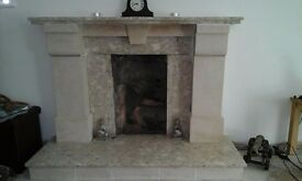 Marble/Stone Fire Place