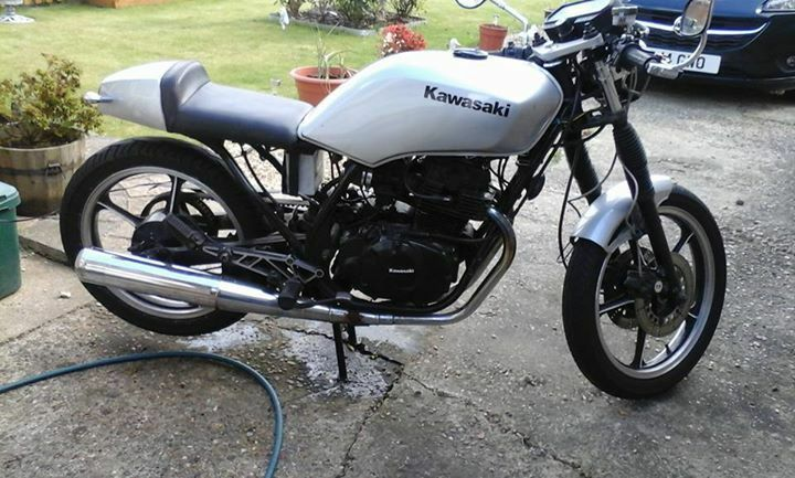 for sale kawasaki 305 gpz cafe racer 1986. | in brundall, norfolk