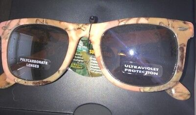 Ray Charles Sunglasses (Fall Transitions PINK Camouflage FULL FRAME Ray Charles)