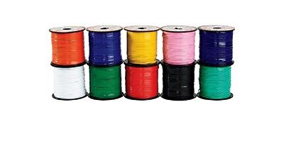 Rexlace, 100 Yards Plastic Lace! Pepperell Lace in 19 Vibrant Crafting Colors!  - Plastic Lacing