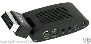 Scart Freeview Digital TV Receiver