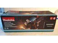 Makita angle grinder - new in box