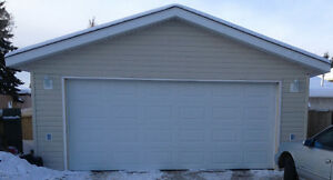 Double Garages available in Millwoods