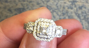 White Gold and Diamonds Blingy