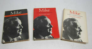 "Memoirs of Lester B. Pearson - 3 Volumes - ""Mike"""