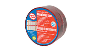 Tuck Tape 60mm x 50m Red Sheathing Housewrap Tape