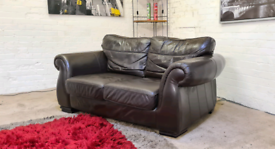 Italian Leather 2 Seater Sofa Only £99
