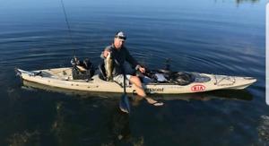 Kayak- Wilderness Systems Tarpon 140 with rudder