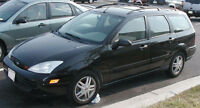 2002 Ford Focus Wagon SAFETIED $1700 good condition