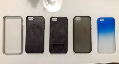 Cover iPhone 5 S firmate Versace, Guess e Puro