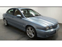 2006(06)JAGUAR X TYPE 2.2D SPORT MET BLUE,HALF LEATHER,6 SPEED,BIG MPG,CLEAN CAR